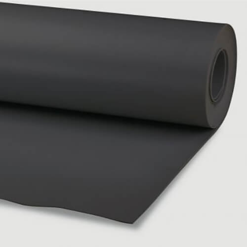 Foam caucho negro 2mm